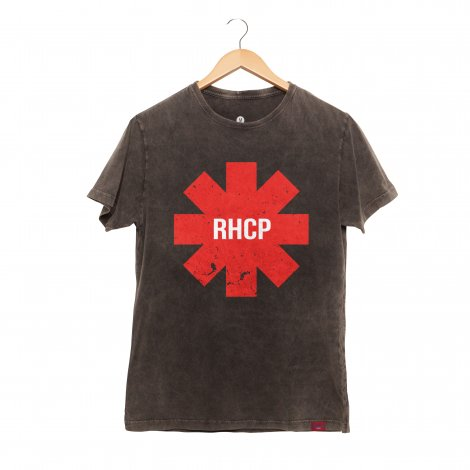 Camiseta Masculina Estonada - RHCP - RED HOT