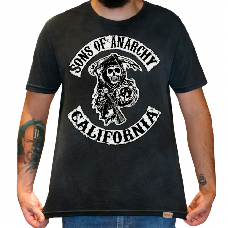 Camiseta Masculina Estonada - Sons Of Anarchy