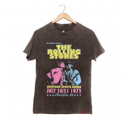Camiseta Masculina Estonada - The Rolling Stones 1972