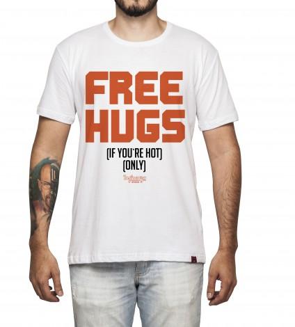 Camiseta Masculina - Free Hugs