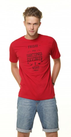 Camiseta Masculina - Friday My Second Favorite F Word