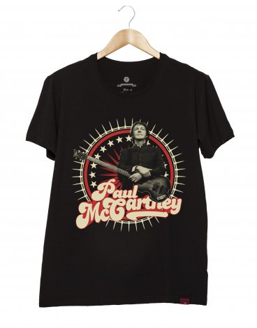 Camiseta Masculina - Paul McCartney
