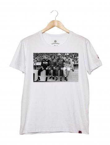 Camiseta Masculina - Pilotos Fórmula 1
