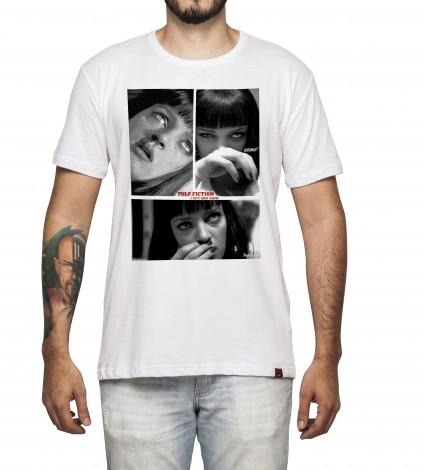 Camiseta Masculina - Pulp Fiction