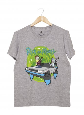 Camiseta Masculina - Rick and Morty