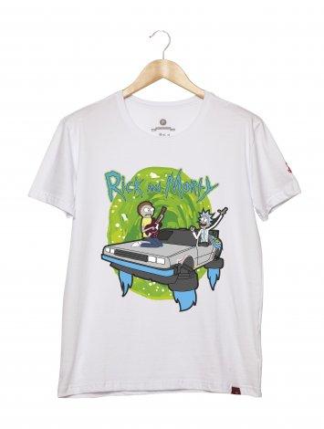 Camiseta Masculina - Rick and Morty