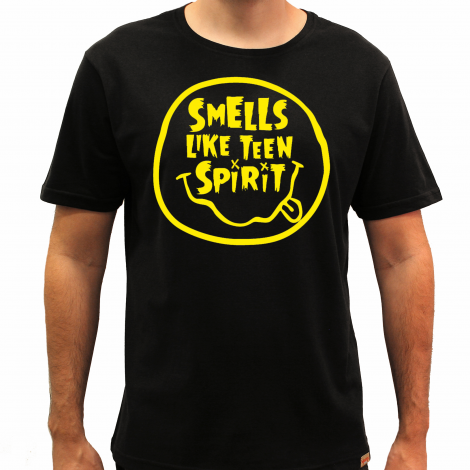 Camiseta Masculina - Smells Like Teen Spirit