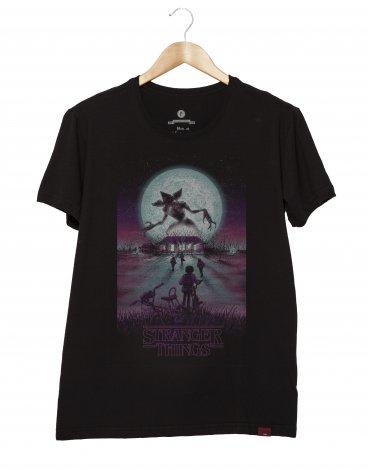 Camiseta Masculina - Stranger Things