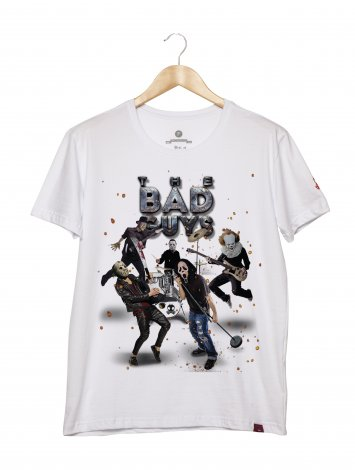 Camiseta Masculina - The Bad Guys