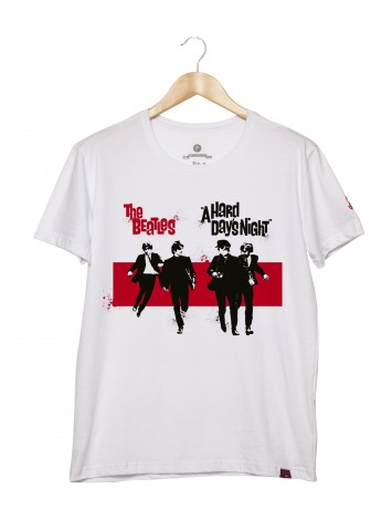 Camiseta Masculina - The Beatles - A Hard Days Night