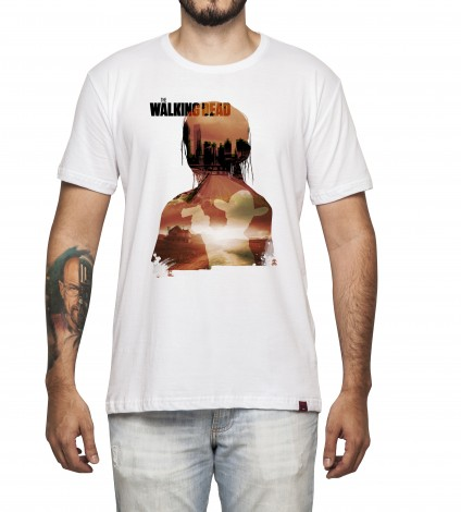 Camiseta Masculina - The Walking Dead
