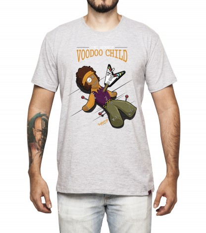 Camiseta Masculina - Voodoo Child - Jimi Hendrix