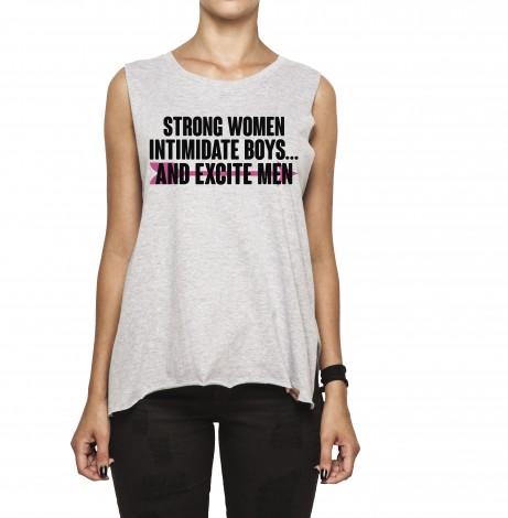 Regata Feminina Corte a Fio - Strong Women