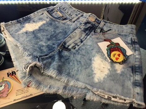 SHORTS PATCHES