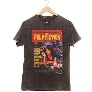 CAMISETA ESTONADA PULP FICTION POSTER
