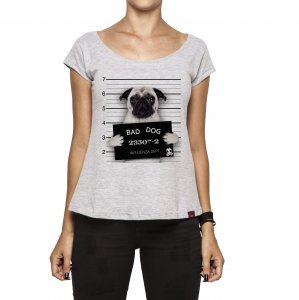 Camiseta Feminina - Bad Dog