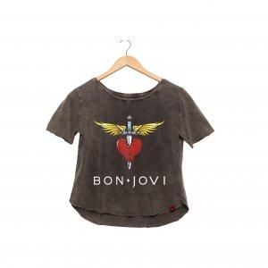 Camiseta Feminina Estonada - Bon Jovi s2