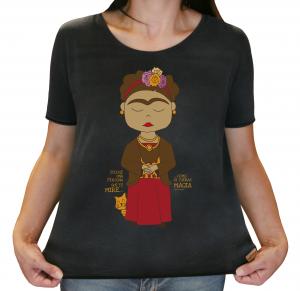 Camiseta Feminina Estonada - Frida Kahlo - Como Si Fueras Magia