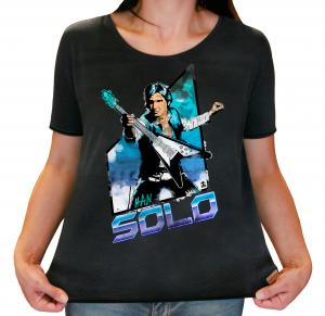 Camiseta Feminina Estonada - Han Solo