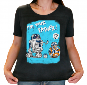 Camiseta Feminina Estonada - I`m Your Father!