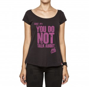 Camiseta Feminina - Fight Club Rule #1