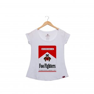 Camiseta Feminina - Foo Fighters 1