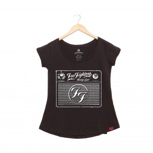 Camiseta Feminina - Foo Fighters Radio