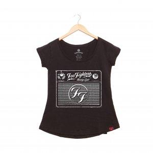 Camiseta Feminina - Foo Fighters Radio