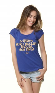 Camiseta Feminina - Gírias Idosas