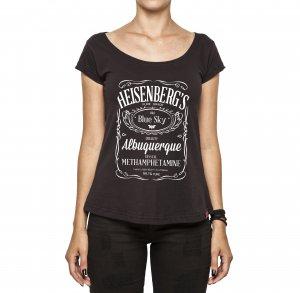 Camiseta Feminina - Heisenberg Blue Sky