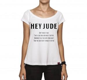 Camiseta Feminina - Hey Jude