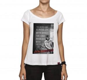 Camiseta Feminina - Keith Richards