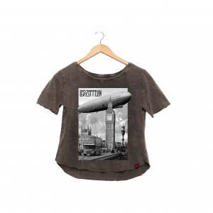 Camiseta Feminina - Led Zeppelin