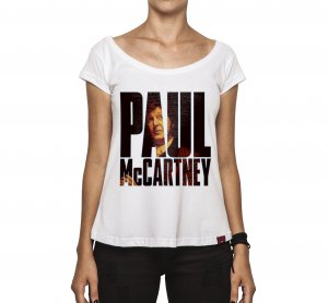 Camiseta Feminina - McCartney