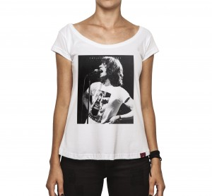 Camiseta Feminina - Mick Jagger and Keith Richards