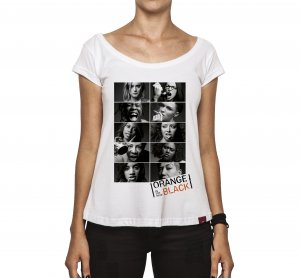 Camiseta Feminina - Orange Is The New Black