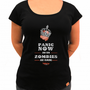 Camiseta Feminina - Panic Now!!!
