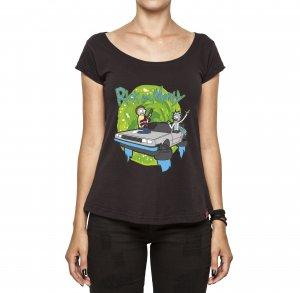 Camiseta Feminina - Rick and Morty