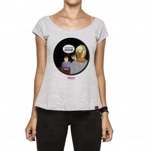 Imagem - Camiseta Feminina - Silêncio dos Inocentes