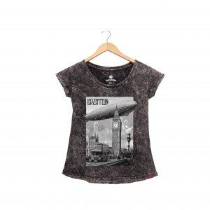 Camiseta Feminina SKY - Led Zeppelin