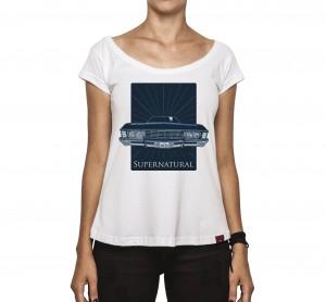 Camiseta Feminina - Supernatural
