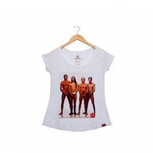 Camiseta Feminina - The Peppers in The Nude