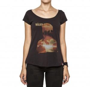 Camiseta Feminina - The Walking Dead