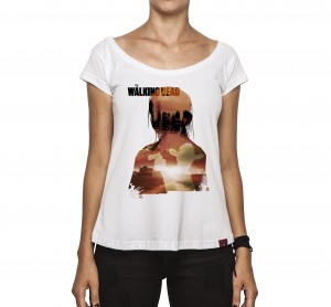 Camiseta Feminina - The Walking Dead