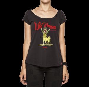 Camiseta Feminina - Wild Horses - Rolling Stones
