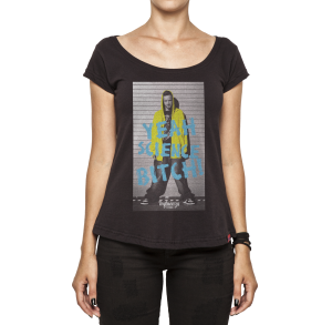 Camiseta Feminina - Yeah Science Bitch - Breaking Bad