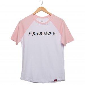 Camiseta Manga Raglan Unissex - Friends