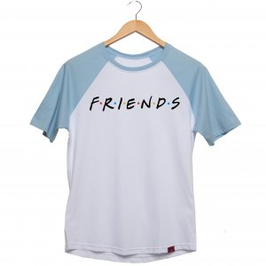 Camiseta Manga Raglan Unissex - Friends
