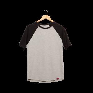 Camiseta Manga Raglan Unissex - Laboratório de Estampas