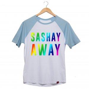 Camiseta Manga Raglan Unissex - Sashay Away - Influenza Store